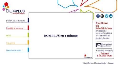 Découvrir DOMPLUS en 1 minute