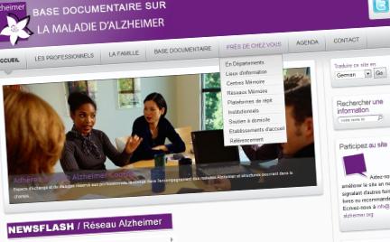 Réseau Alzheimer : lancement de la base documentaire