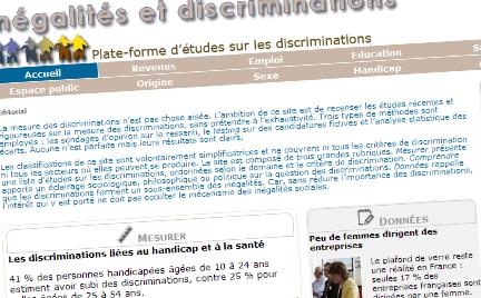 L'Observatoire des inégalités lance le site Inégalités et Discriminations