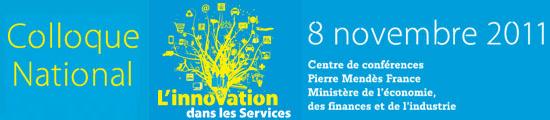 Colloque National Innovation dans les Services