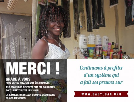 Défi solidaire Babyloan