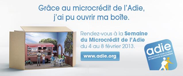 9ème Semaine du Microcrédit de l'ADIE