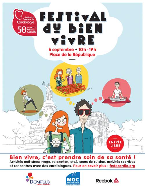 Festival du Bien Vivre Paris FFC DOMPLUS