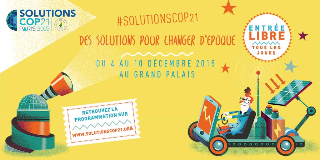 COP 21 : des solutions pour changer d'époque