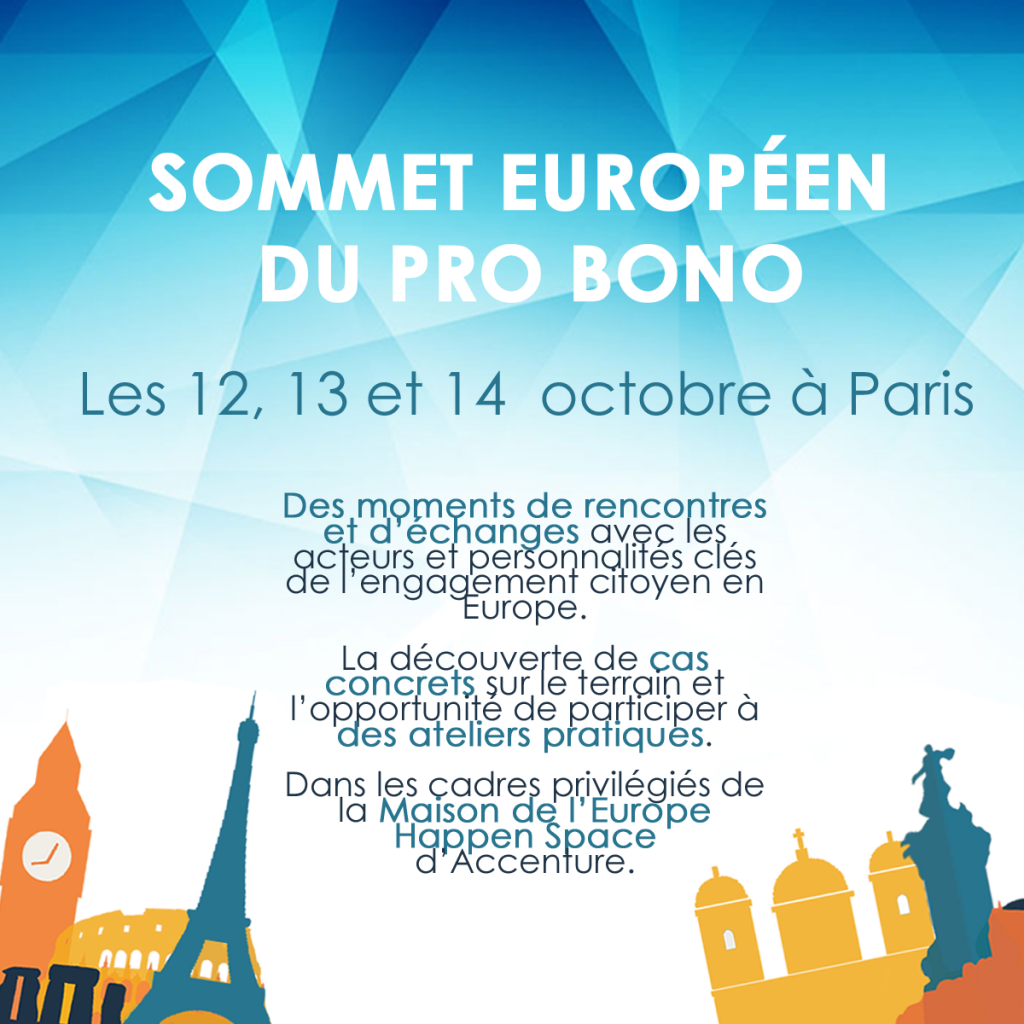 Premier Sommet Européen du Pro Bono