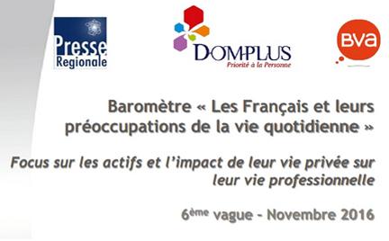 baromètre DOMPLUS 2016